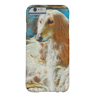Royal Afghan Hound Oil Portrait Barely There iPhone 6 Case