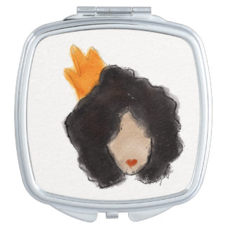Royal Afro Compact Mirror