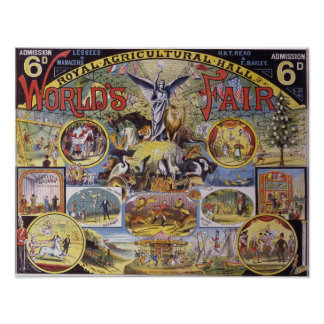 Royal Agricultural Hall Poster