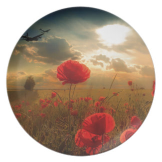 Royal Air Force Tribute Plate