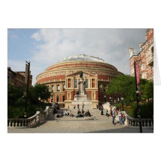 Royal Albert Hall, London Card