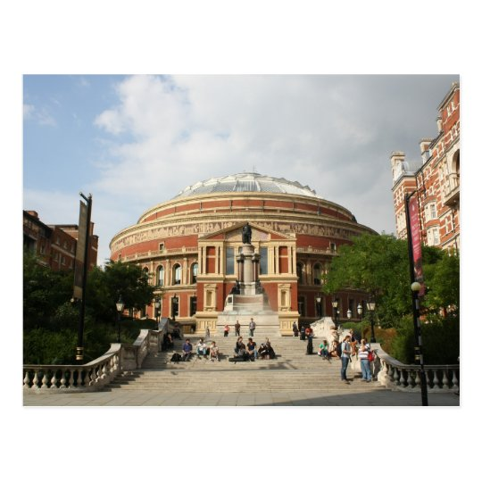 Royal Albert Hall, London Postcard