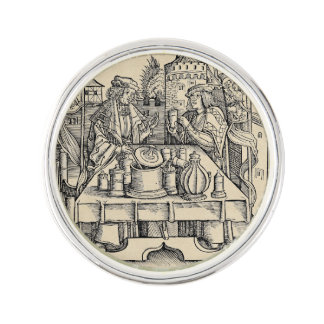 Royal Alchemist in the Castle Lapel Pin
