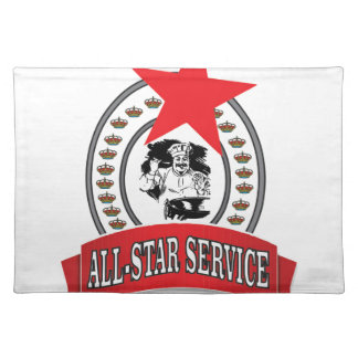royal all-star service placemat