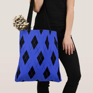 Royal-Argyle-Shoulder-Bag''s-Tote's_Multi-Style's Tote Bag
