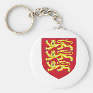 Royal Arms of England (1198-1340) Keychain