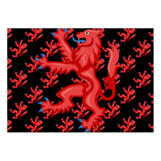 Royal Arms of Scotland Lion Business Card