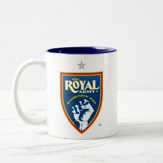 Royal Army Logo / Blue SLTID on Blue Mug