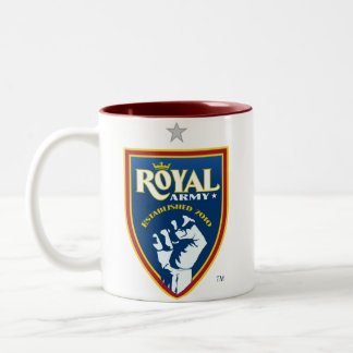 Royal Army Logo / Red SLTID on Red Mug