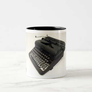 Royal Arrow typewriter Two-Tone Coffee Mug