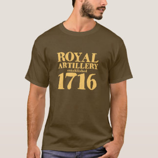 Royal Artillery 1716 T-shirt