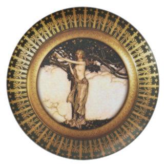 Royal Asatru: Freya Gold Plate