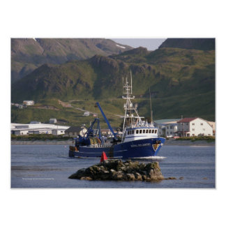 Royal Atlantic, Fishing Trawler in Dutch Harbor Poster