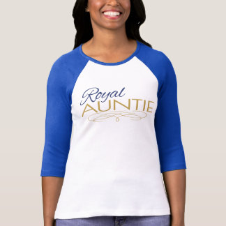 Royal Auntie Royal Prince Baby Shower Shirt