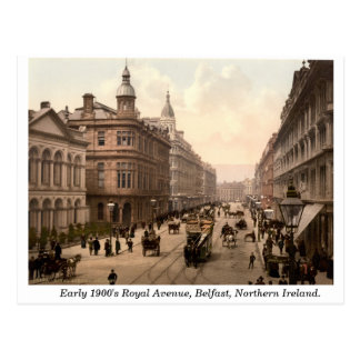 Royal Avenue, Belfast, Northern Ireland Postcard