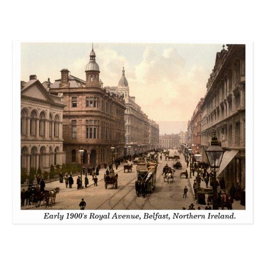 Royal Avenue, Belfast, Northern Ireland Postcard