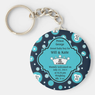 Royal Baby Boy for William and Catherine 2013 Keychain
