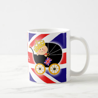 Royal Baby British Flag Mug