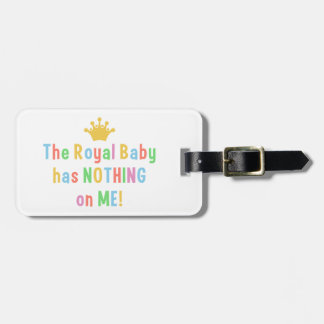 Royal Baby custrom luggage tag