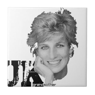 Royal baby - Diana Princess Ceramic Tile