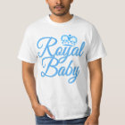 Royal Baby in Blue with Crown T-Shirt