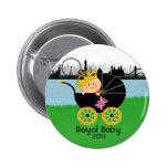 Royal Baby London Button