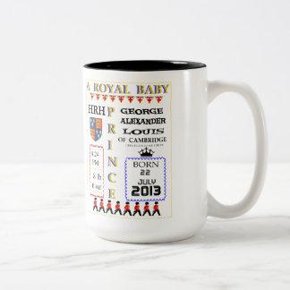 Royal Baby Prince Commemoration Mug