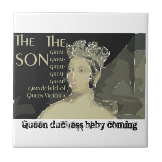 Royal baby: Prince William and Catherine Tiles