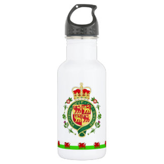 Royal Badge of Wales 532 Ml Water Bottle