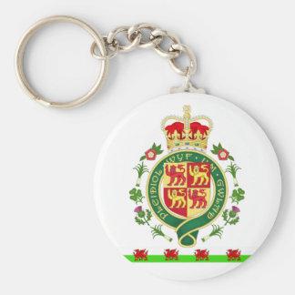 Royal Badge of Wales Keychain