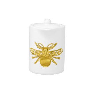 royal bee, imitation of embroidery