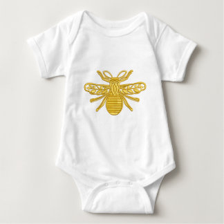 royal bee, imitation of embroidery baby bodysuit