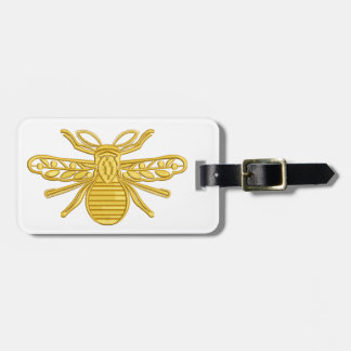 royal bee, imitation of embroidery luggage tag
