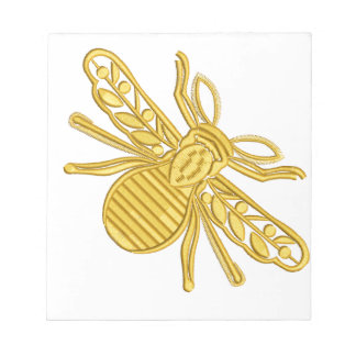 royal bee, imitation of embroidery notepad