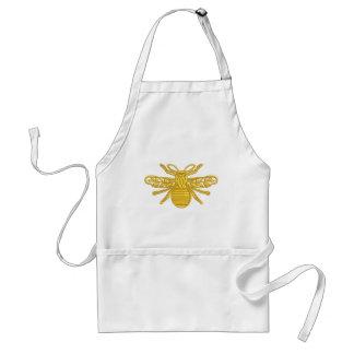 royal bee, imitation of embroidery standard apron
