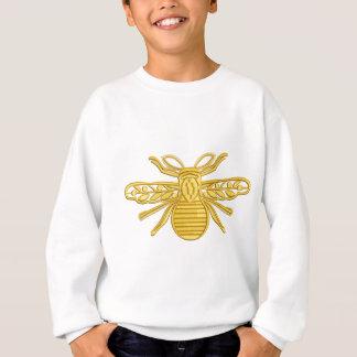 royal bee, imitation of embroidery sweatshirt