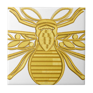 royal bee, imitation of embroidery tile