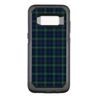 Royal Blue and Green Clan Mackenzie Scottish Plaid OtterBox Commuter Samsung Galaxy S8 Case