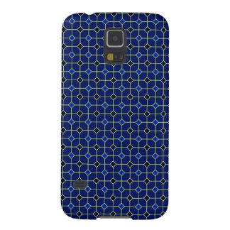 Royal Blue Antique Tiles Design Case