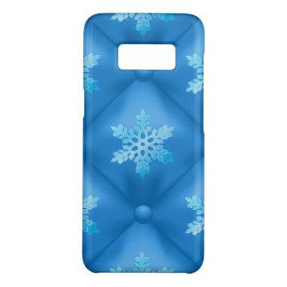 Royal Blue Christmas Snowflake Pattern Case-Mate Samsung Galaxy S8 Case