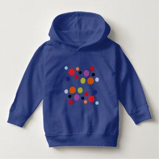 royal blue circles toddler hoodie by DAL