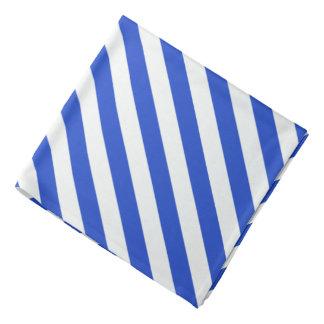 Royal Blue Combination Stripes Bandana