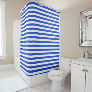 Royal Blue Combination Stripes by Shirley Taylor