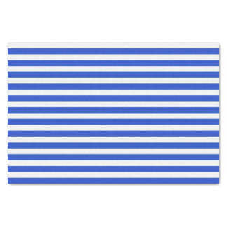 Royal Blue Combination Stripes by Shirley Taylor Tissue Paper