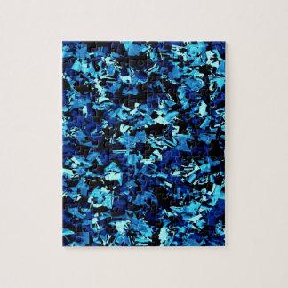 Royal Blue Craze... Jigsaw Puzzle