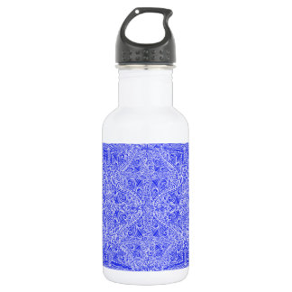 Royal Blue Elegant flow 532 Ml Water Bottle
