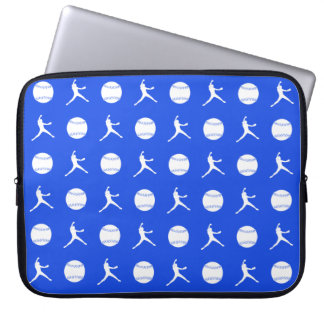 Royal Blue Fastpitch Laptop Sleeve