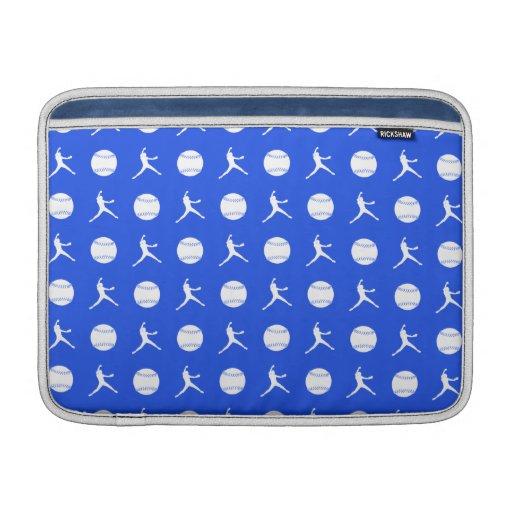 Royal Blue Fastpitch MacBook Air Sleeve