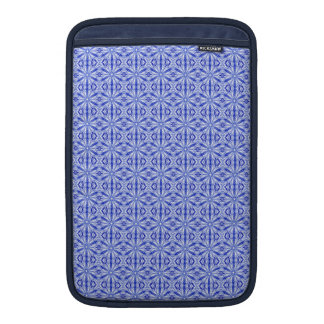Royal Blue Fractal Pattern 11 Inch Sleeve For MacBook Air