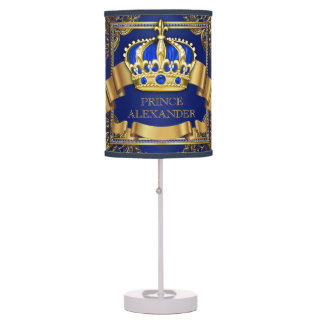 Royal Blue Gold Prince Table Lamp